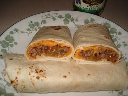 Easy Beef-n-Green Burritos Recipe