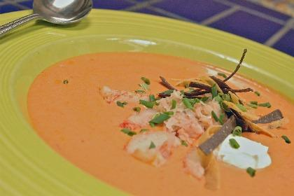 Red Chile Crab Bisque