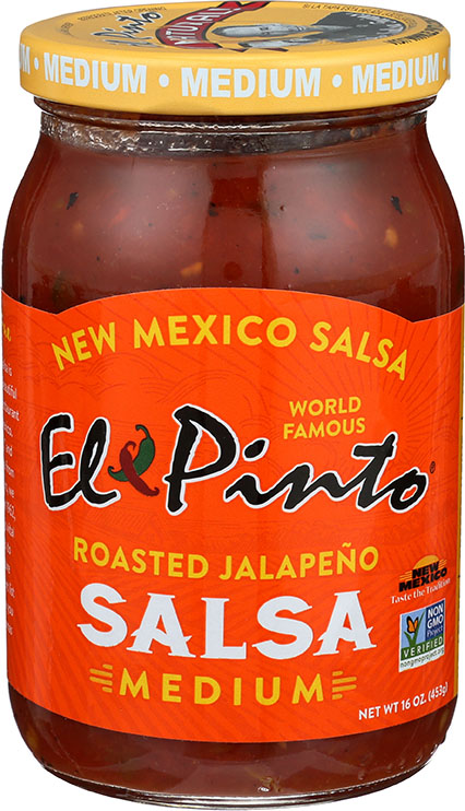 El Pinto Medium Roasted Jalapeno Salsa