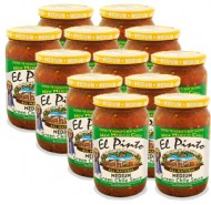 12-Pack El Pinto  16 oz.  Medium Green Chile Sauce
